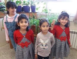 گرامی داشت روز جهانی دختر در جمع فرزندان دختر همکاران مرکز