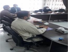 برگزاری جلسه پیرامون آموزشهای مرکز با حضور ریاست و معاونت آموزش استان در مرکز شماره یک مشهد