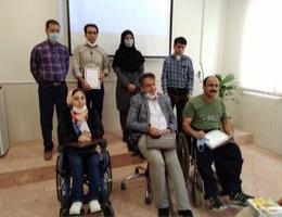 تقدیر از برگزیدگان مسابقات مهارتی معلولین استان