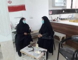 بازدید از مرکز حامیان کودکان و نوجوانان کم توان ذهنی مشهد
