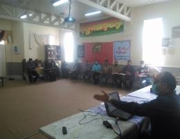 برگزاری دوره ی آموزشی پرورش دام سبک با همکاری کمیته امداد شهرستان