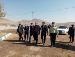 گزارش تصویری از بازدید سرزده فرماندار ویژه شهرستان نیشابور از مرکز آموزش فنی و حرفه ای سرولایت