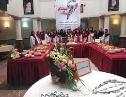جشنواره غذاهای سنتی به مناسبت هفته ملی مهارت و کارآفرینی در تاریخ 4 مرداد ماه برگزار گردید