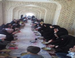برگزاری مراسم دهه کرامت در مرکز آموزش فنی حرفه ای شماره 28 بردسکن