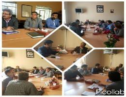 جلسه مشترک مرکز آموزش فنی و حرفه ای سرولایت و آموزش و پرورش سرولایت