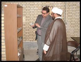 بازدید امام جماعت مرکز از کارگاه گوهر تراشی