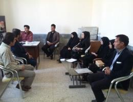 برگزاری گارگاه آموزشی آشنایی با سامانه مشاغل خانگی درمرکز فنی حرفه ای شهرستان بردسکن