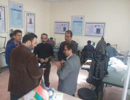 بازدید معاون دفتر نظارت، بهسازی وهدایت شغلی سازمان آموزش فنی و حرفه ای کشور از مرکز آموزش فنی و حرفه ای غرب مشهد(ویژه توان یابان)