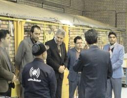 بازدید کارکنان شرکت مخابرات و اداره برق شهرستان فیروزه در هفته بازدی همگانی از مراکز فنی و حرفه ای