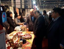 بازدید مدیرکل آموزش فنی و حرفه ای خراسان رضوی از هجدهمین نمایشگاه دستاوردهای پژوهشی، فناوری و فن بازار استان