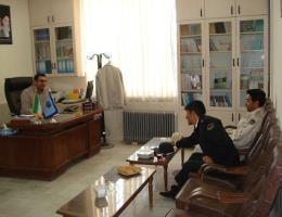 برگزاری جلسه بررسی راهکارای اجرای تفاهم نامه با نیروهای مسلح شهرستان تایباد