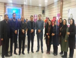 بازدید رئیس اتاق اصناف مشهد از نمایشگاه صنایع غذایی در مرکز آموزش مهارتهای پیشرفته ارم