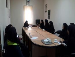 برگزاری دوره تربیت خانواده ویژه بانوان به مناسبت بزرگداشت هفته زن در مرکز آموزش مهارتهای پیشرفته ارم