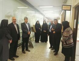 حضور مدیرکل آموزش فنی و حرفه ای خراسان رضوی در مرکز خواهران مشهد و تبریک روز زن