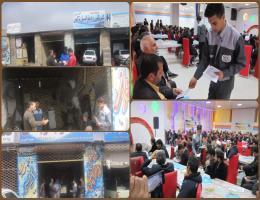توزیع میدانی بیش از 700 برشور طرح مهارت آموزی در محیط کار واقعی در شهرستان باخرز
