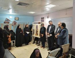 بازدید معاون آموزش اداره کل آموزش فنی و حرفه ای خراسان رضوی از دوره های آموزشی ویژه خانواده زندانیان در حاشیه شهر مشهد