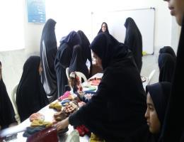 بازدید دانش آموزان شهید رحمتی از مرکز آموزش فنی و حرفه ای شهید شرکاء