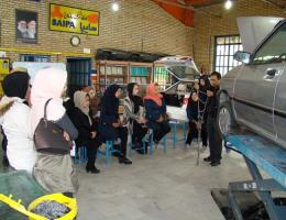 برگزاری کارگاه آموزش خودیاری فنی جهت اعضای اتحادیه آرایش و پیرایش زنانه نیشابور