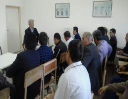 برگزاری دوره ایمنی درکارگاه ویژه کارگران ساختمانی بمناسبت هفته کاروکارگر درمرکزآموزش فنی وحرفه ای قوچان