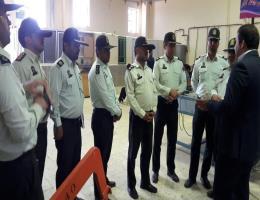 بازدید فرمانده نیروی انتظامی شهرستان رشتخوار به همراه کارکنان خود از کارگاه های آموزشی مرکز