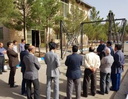 بازدید مدیران ، مربیان و سرپرستان هنرستان شهید مدرس از مرکز آموزش فنی و حرفه ای کاشمر