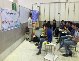 برگزاری دوره آموزشی مدیریت بهینه مصرف انرژی ویژه کارآموزان مرکز آموزش فنی و حرفه ا ی شهرستان رشتخوار