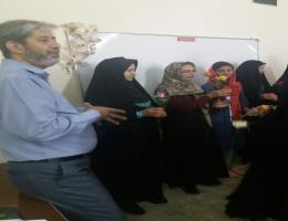 برگزاری کلاس مهارت های زندگی در دهه کرامت در مرکز آموزش فنی و حرفه ای قوچان