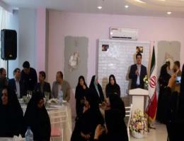 افتتاح آموزشگاه شیرنی پزی سارینا با حضور ریاست مرکز آموزش فنی وحرفه ای و مسئولین شهرستان