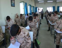 برگزاری اولین دوره ی آزمون ادواری نیروهای مسلح