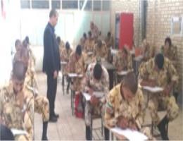 برگزاری دومین آزمونهای ادواری جهت سربازان وظیفه در مرکز آموزش فنی وحرفه ای تربت حیدریه