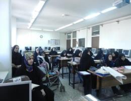 اجرای کارگاه آموزشی دوره ی شلوار دوز مردانه بمناسبت هفته دولت