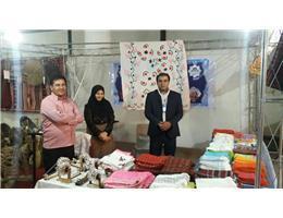 استقبال از غرفه مرکز آموزش فنی و حرفه ای در نمایشگاه بین المللی مشهد