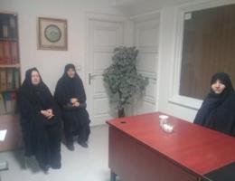 بازدید مسئولین مرکز از اتحادیه صنف بانوان خیاط