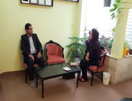 بازدید رئیس مرکز آموزش فنی و حرفه ای کاشمر از آموزرشگاههای آزاد شهرستان