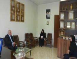 دیدار رئیس اتحادیه فرش دست باف خراسان رضوی از مرکزآموزش فنی و حرفه ای خواهران مشهد