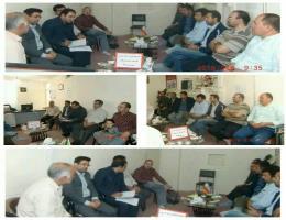 برگزاری جلسه هم اندیشی کمیته برنامه ریزی آموزشی مرکز آموزش فنی و حرفه ای با اتاق اصناف شهرستان رشتخوار