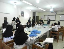 بازدید مسئولین امرار معاش NRC از کارگاه های ویژه اتباع مرکز آموزش فنی و حرفه ای خواهران مشهد