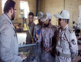 انتخاب مرکز آموزش فنی و حرفه ای تایباد به عنوان مکان یدکی ستاد فرماندهی پدافند غیر عامل شهرستان