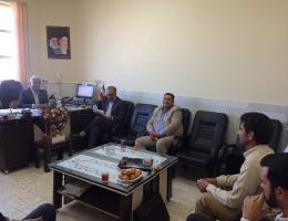 جلسه در خصوص تفاهمنامه مرکز فنی و حرفه ای با ستاد مبارزه با مواد مخدر