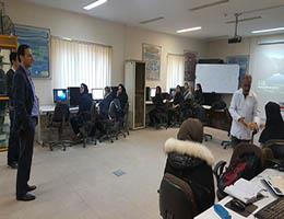حضور رئیس مرکز آموزش مهارتهای پیشرفته ارم در کارگاه های آموزشی این مرکز به مناسبت میلاد با سعادت حضرت محمد (ص) و امام جعفر صادق (ع)