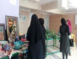 برگزاری نمایشگاه محصولات مشاغل خانگی با همکاری شهرداری توحید شهر ومرکز آموزش فنی وحرفه ای سبزوار