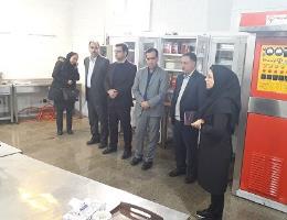 بازدید رئیس محترم اداره کار ، تعاون و رفاه اجتماعی مشهد از کارگاههای آموزشی مرکز