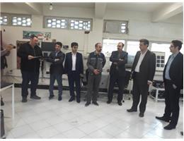 بازدید نمایندگان موسسه SBH و پروژه آموزش شغلی دوگانه ایران و آلمان از مرکز آموزش فنی و حرفه ای شماره یک مشهد