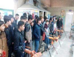 رئیس مرکز آموزش فنی و حرفه ای قوچان از بازدید دانش آموزان از کارگاه های مرکز خبر داد