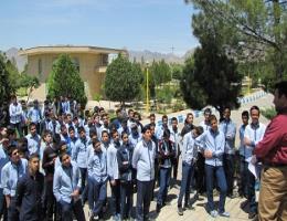 بازدید تعداد 80 نفر از دانش آموزان دبیرستان شاهد امام صادق (ع) کاشمر از کارگاههای آموزشی مرکز آموزش فنی و حرفه ای شهرستان کاشمر