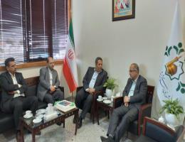 دیدار مدیرکل، آموزش فنی و حرفه ای خراسان رضوی با رئیس شورای اسلامی شهر مشهد