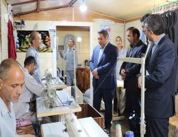 بازدید مدیرکل آموزش فنی و حرفه ای خراسان رضوی از مجموعه خانه سبز و ثنا