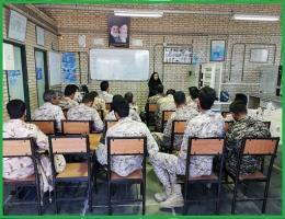 ارائه خدمت آموزش مهارتی برای نیروهای مسلح ناحیه مقاومت بسیج سپاه شهرستان تایباد