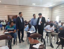 برگزاری دومین مرحله آزمون هماهنگ سازمان آموزش فنی وحرفه ای کشور در خراسان رضوی