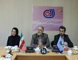 نشست هم اندیشی مدیرکل آموزشگاههای آزاد و مشارکت مردمی سازمان با اعضای کانون انجمن صنفی آموزشگاه های فنی و حرفه ای آزاد استان
